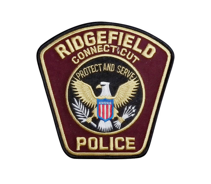 Ridgefield Connecticut Police Patch