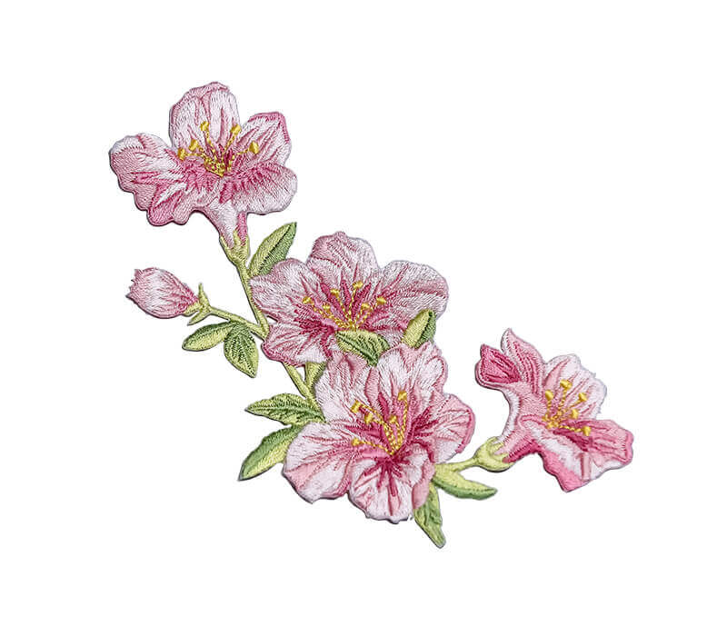 Embroidered Floral Patch